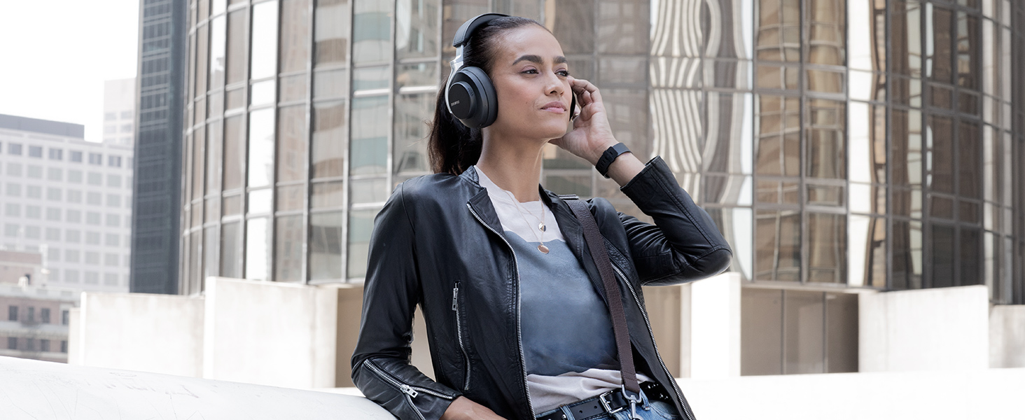 shure aonic 50 wireless headphones Up to 20 Hours of Battery Life