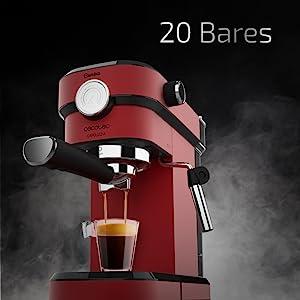 Cecotec Cafetera Express con Manómetro Cafelizzia 790 Shiny Pro ...