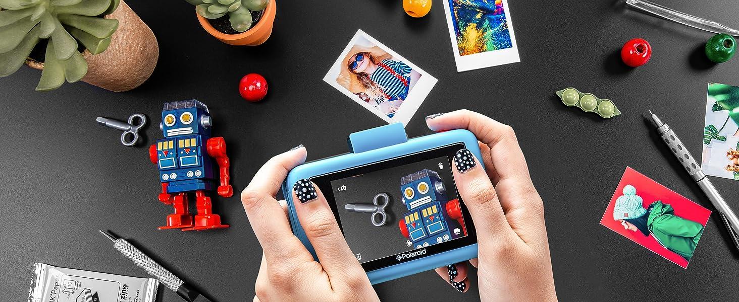 Polaroid snap touch detailed photos take photos