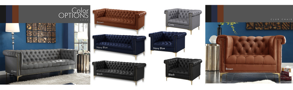 color options club chair sofa leather
