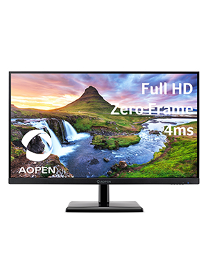 """AOPEN 27CH2 27"""" Full HD Home Work Study Monitor Display"""