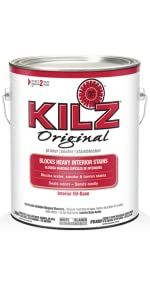Kilz complete high adhesion and penetration interior exterior oil based primer sealer white 1 for Kilz kilz 2 interior exterior latex primer