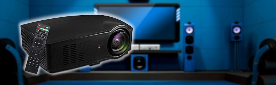 Proyector Full HD 1080P, SEELUMEN(2019 Nuevo Modelo) Proyectores ...