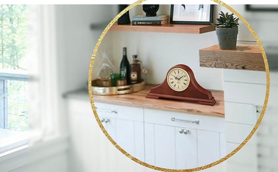 Seiko, mantel, clock