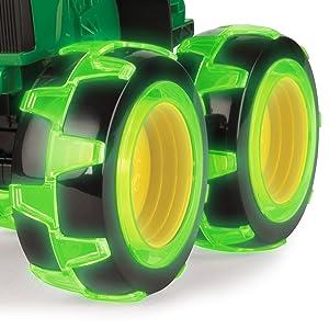 Monster Treads Lightning Wheels