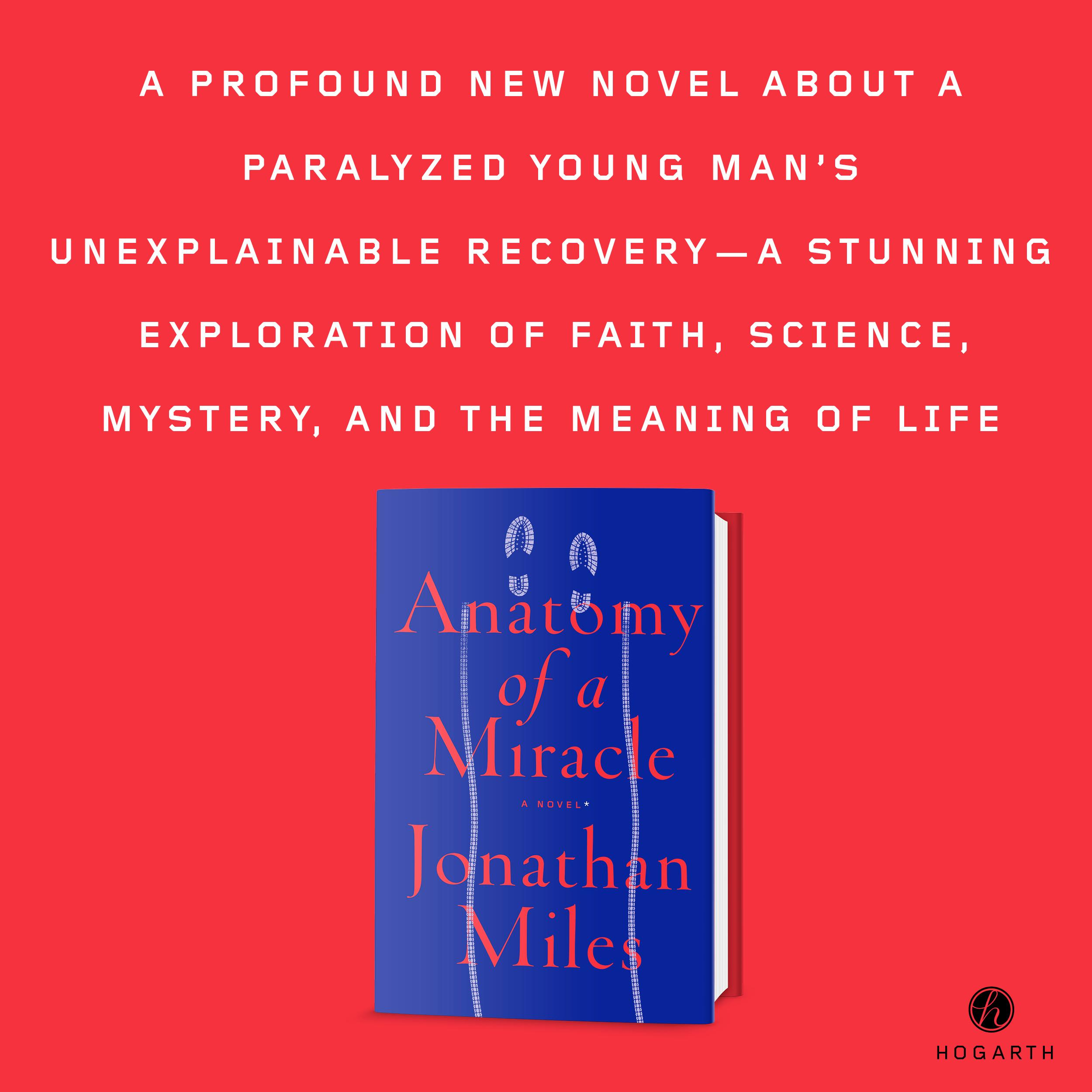 Anatomy Of A Miracle A Novel Jonathan Miles 9780553447583