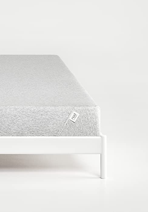 nod 8 inch memory foam mattress