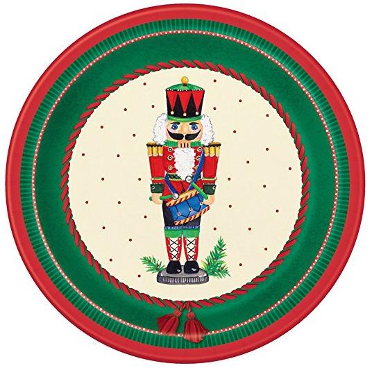Nutcracker Christmas Dinner Plates 8ct · Nutcracker Christmas Dessert Plates 8ct · Nutcracker Christmas Party Napkins 16ct · Nutcracker Christmas ...  sc 1 st  Amazon.com & Amazon.com: Nutcracker Christmas Dessert Plates 8ct: Kitchen \u0026 Dining