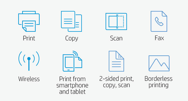 print scan copy fax two-sided duplex high-volume smartphone tablet 802.11 borderless