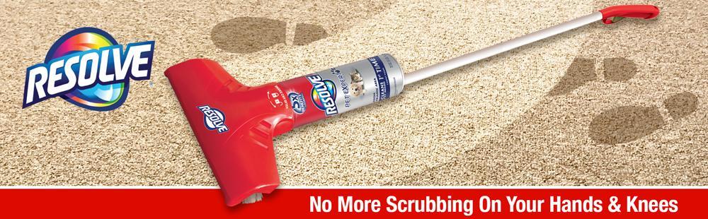 Easy Clean Carpet Cleaning System W Brush Foam 22 Oz
