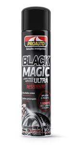 Limpa pneus black magic aerossol pretinho proauto