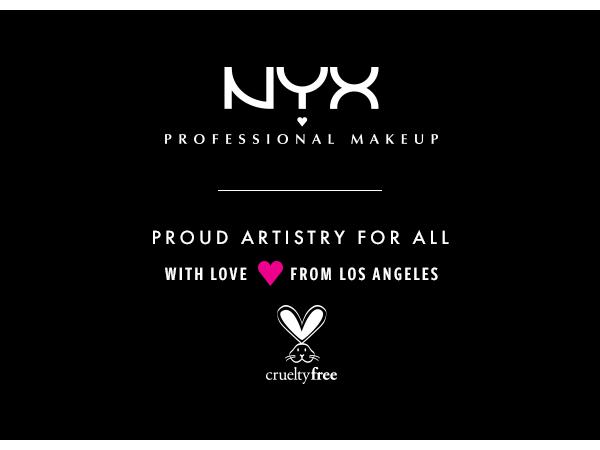 nyx professional makeup beauty products vegan formula cruelty free makeup