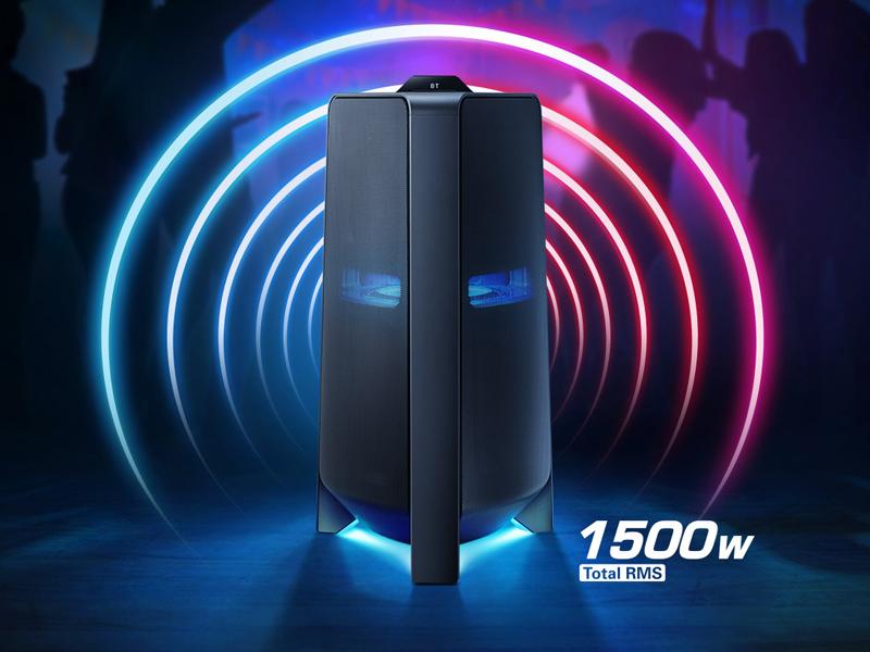 Samsung Giga High Power Audio 1500 Watts