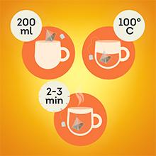 le secret d'une bonne infusion, suivez les instructions, retrouver toutes les saveurs de votre thé