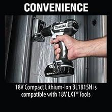 Convenience BL1815 LXT BL1820B