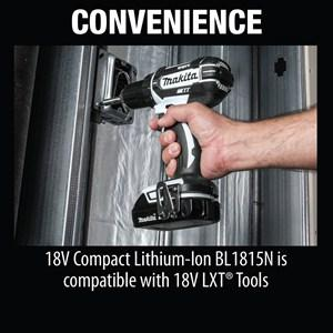 Makita Ct322w 18v Lxt Lithium Ion Compact Cordless 3 Pc