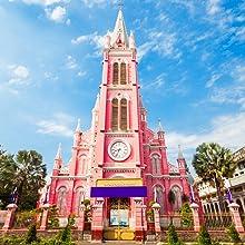 タンディン教会(ピンクの教会)