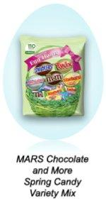 Stock up on candy stuffers for Easter eggs with a bulk bag of chocolate by MARS