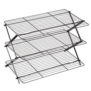 Stacking cooling rack, collapsible cooling rack, baking supplies, cooling grid