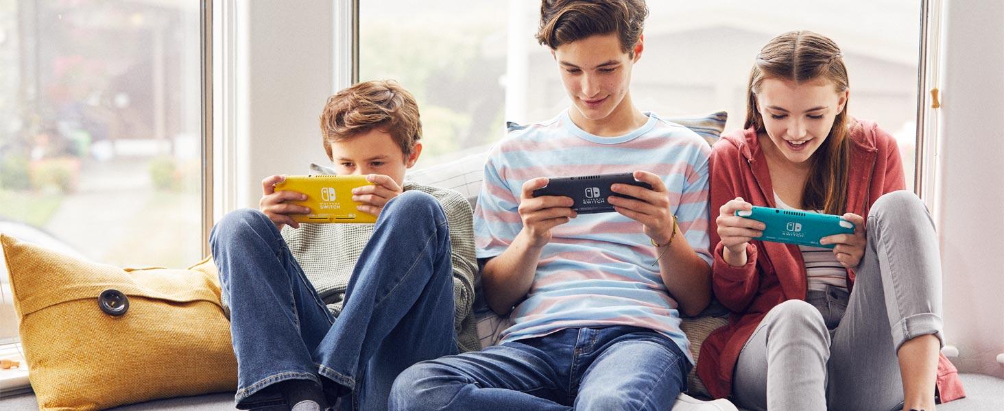 Nintendo switch lite kids