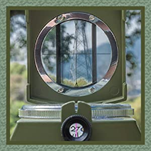 Military sight lens