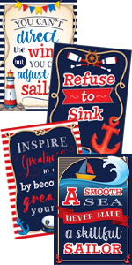 Nautical Positive Posters Pack
