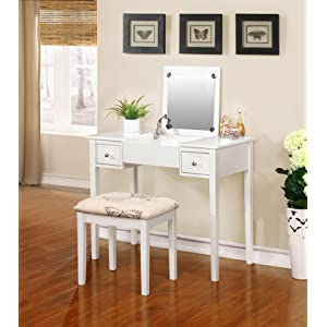 linon home decor vanity set butterfly bench white linon home decor vanity set butterfly bench 13721