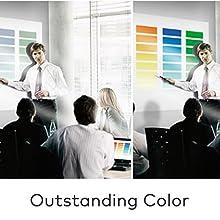 Casio XJ-V2 XJ-V10X XJ-F10X color production amazing brilliant color range projectors