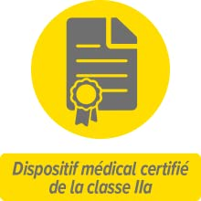 Dispositif médical certifié de la classe IIa