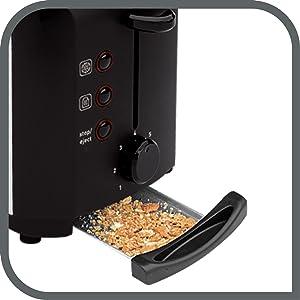 tefal tt356110 grille pain 2 fentes toaster express d cong lation r chauffage 7 niveaux de. Black Bedroom Furniture Sets. Home Design Ideas