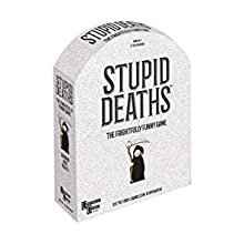 Stupid Deaths the morbid party game of true or false and voting from University Games