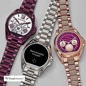 018d67f1746 Amazon.com  Michael Kors Access Women s Smartwatch Bradshaw Rose ...