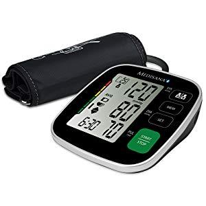 Medisana BU 546 Connect - Tensiómetro Con App, Monitor de Presión Arterial con Indicador de Arritmias