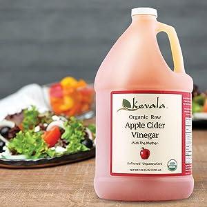 Apple Cider Vinegar, Vinegar with the mother, Apple Cider, Organic Vinegar, Apple vinegar