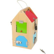 Small Foot 4432- Casa de cerraduras educación, método Montessori ...