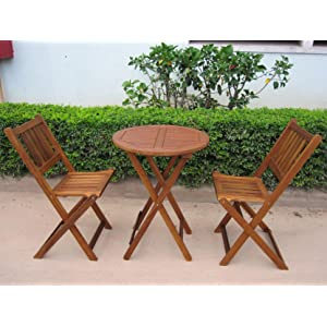 Amazon Com Merry Garden Products Bistro Table And Chair