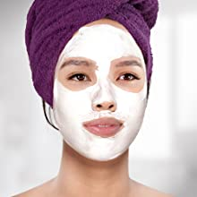 Include clay masks in your weekly skin care routine to deep clean pores