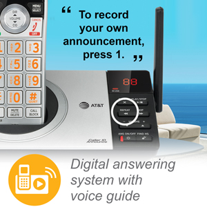 answering system with voice guide