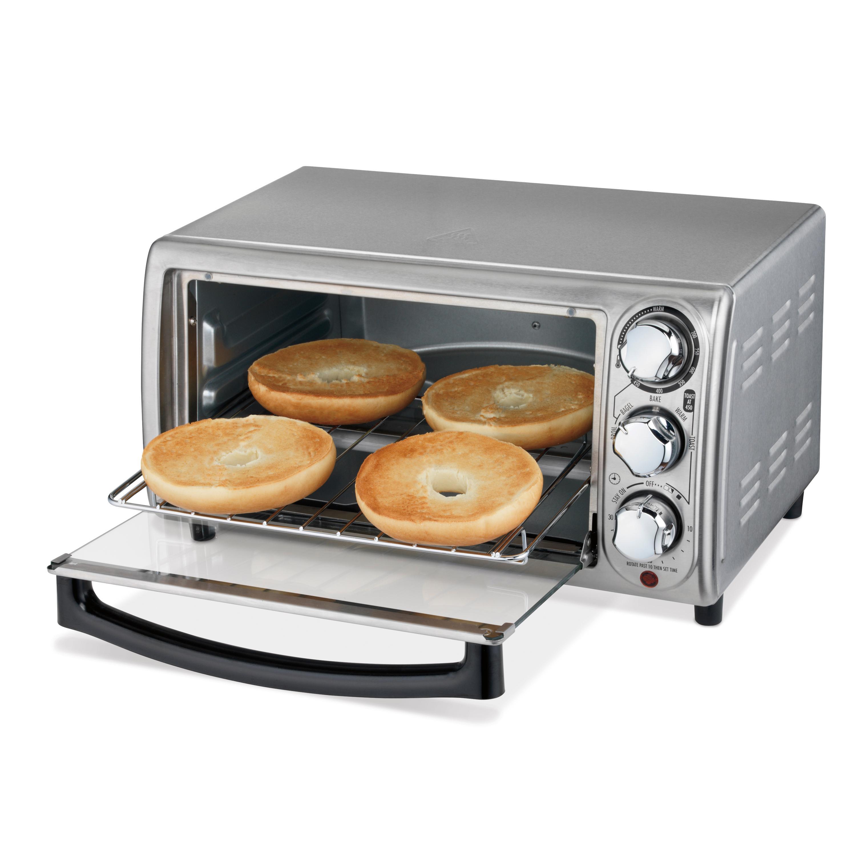 Amazon Com Hamilton Beach 31143 Toaster Oven Silver