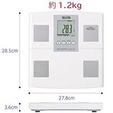 体重計 体組織計 体脂肪計 スケール