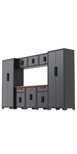 Garage Workshop Tool Organizer Storage Cabinets