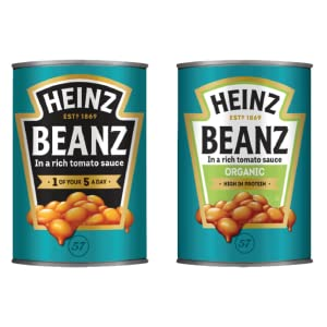 Heinz Classic and Organic Beans