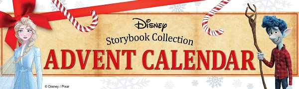 disney, advent calendar, storybook collection