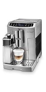 DeLonghi Magnifica S, Fully Automatic Coffee Machine, ECAM22110SB, Silver: Coffee, Tea ...