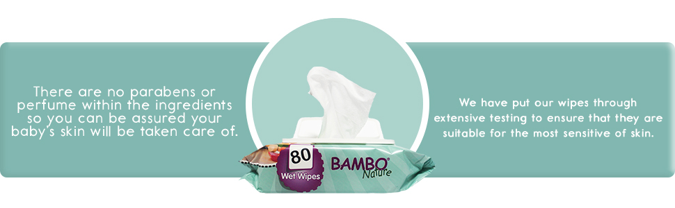 Bambo Nature Wipes Info