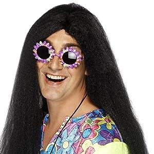 Peluca hippy