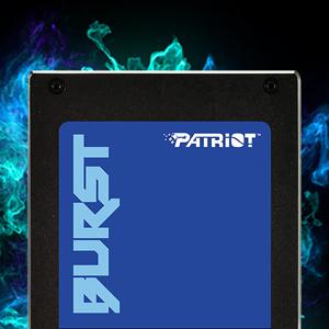 "Patriot Burst 2.5"" SSD Solid State Drive SATA III high performance memory"