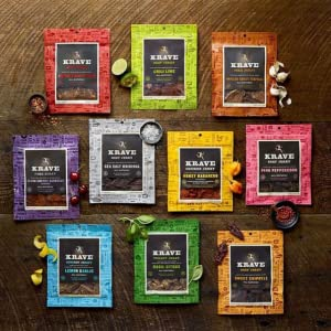 KRAVE Jerky - Palate-Pleasing Flavors and Forms