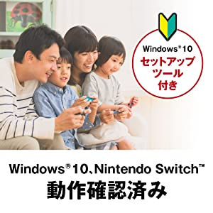 Windows10、Nintendo Switch 動作確認済み