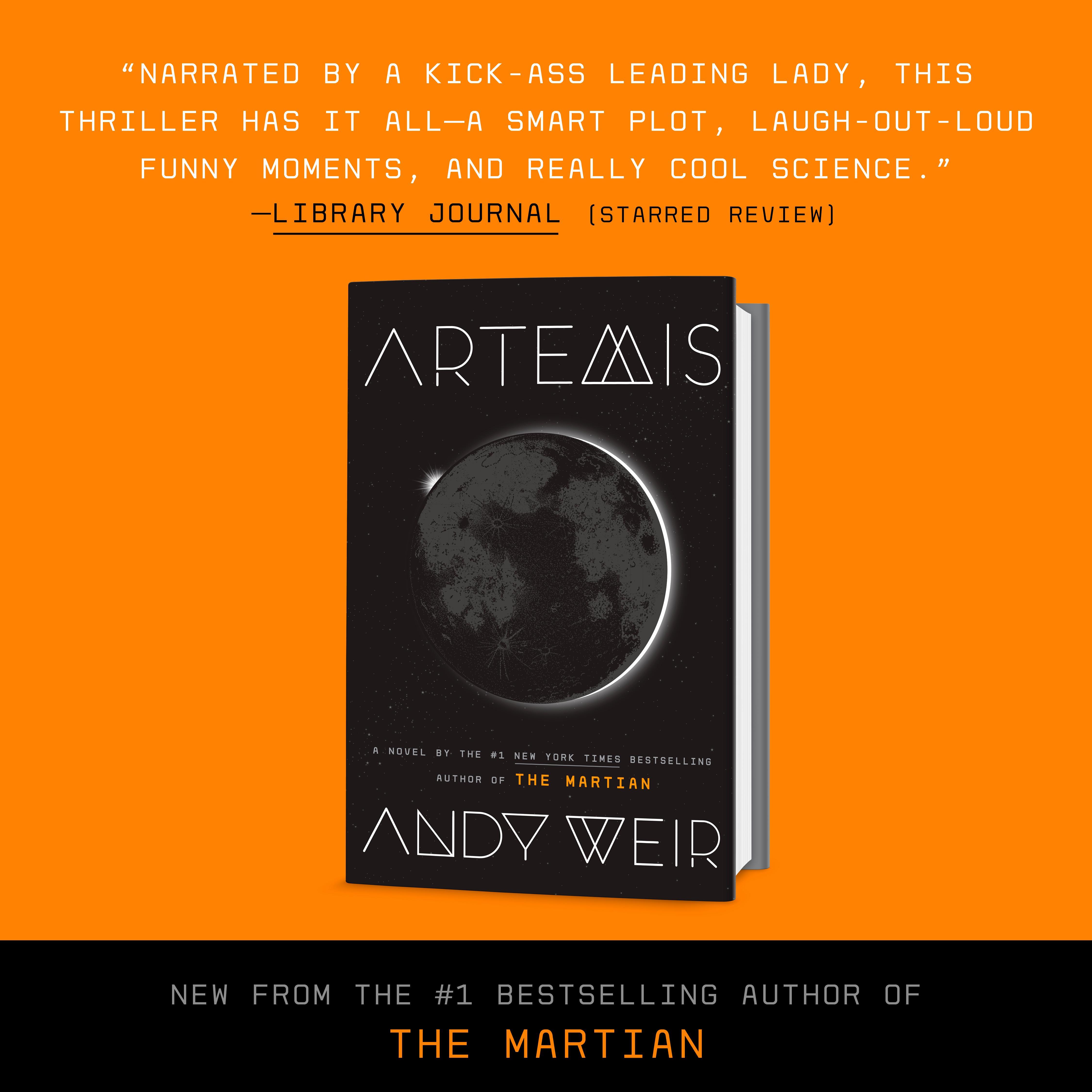 artemis a novel andy weir 9780553448122 amazon com books